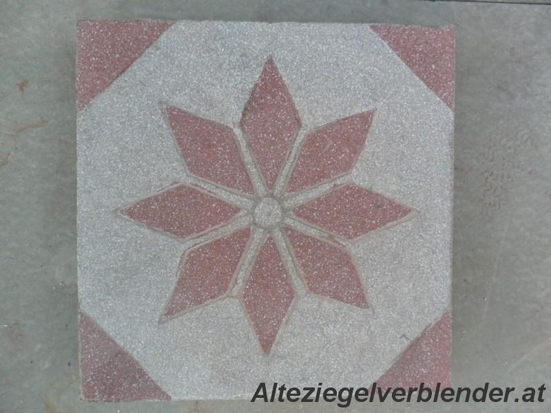 Alte Zementfliese