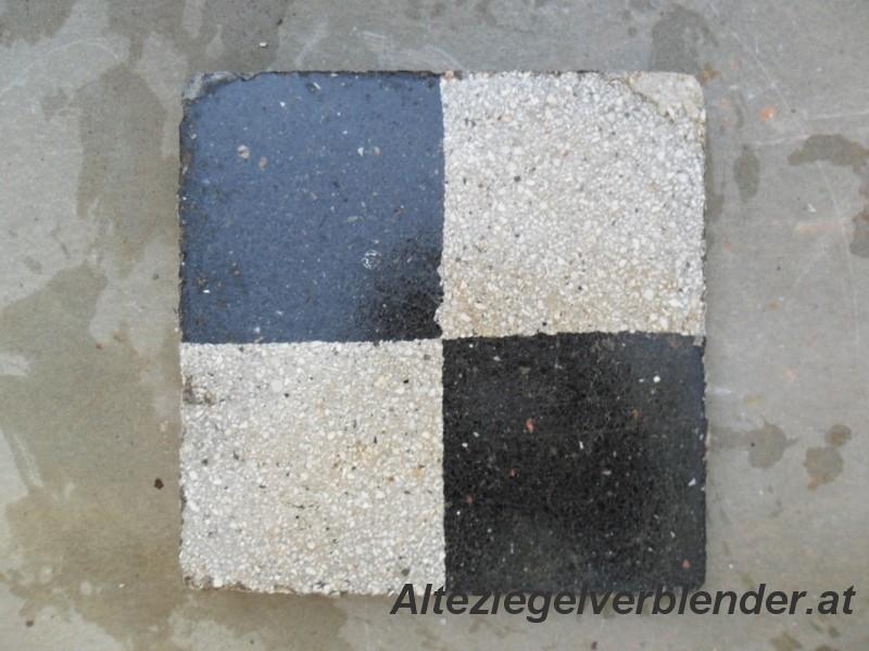 Schwarz-grau Schachmuster
