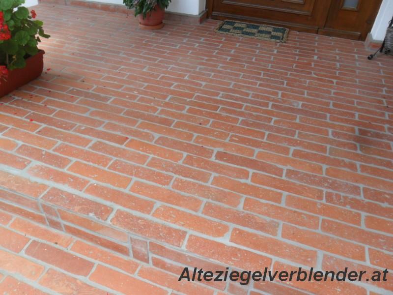 Bodenziegel Alteziegelverblenderat - Terracotta fliesen reinigen dampfreiniger
